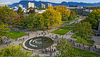 Main Mall Fountain - UBC Vancouver Campus