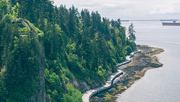 Stanley Park Seawall (Downtown Vancouver)