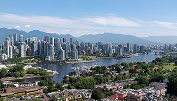 False Creek and Downtown Vancouver. Photo by Ruth Hartnup. Licensed under CC BY 2.0